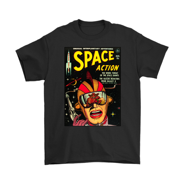 SPACE ACTION 1952 - GOLDEN AGE TURBO TEE!