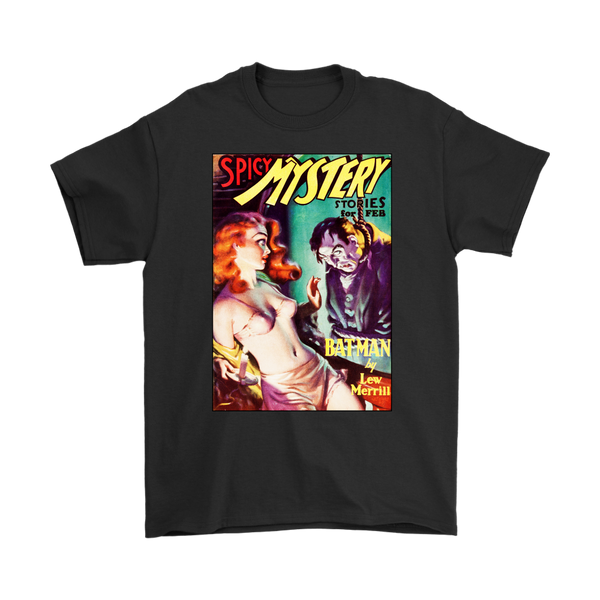 SPICY MYSTERY STORIES 1936 - GOLDEN AGE TURBO TEE!