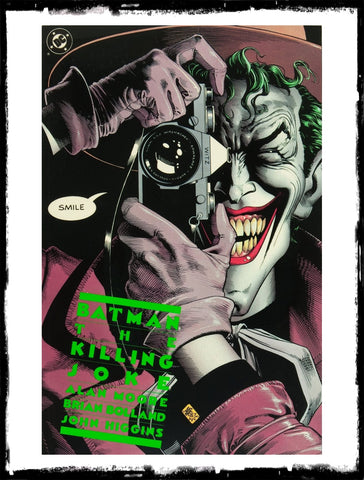 BATMAN: KILLING JOKE - #1 FIRST PRINTING GREEN LOGO (1989 - VF+)