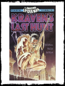 SPIDER-MAN: FEARFUL SYMMETRY - KRAVEN'S LAST HUNT - FIRST PRINT TPB (1990 - VF+)