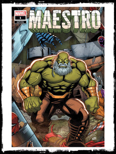 MAESTRO - #1 ORIGIN OF MAESTRO! - RON LIM VARIANT (2020 - NM)