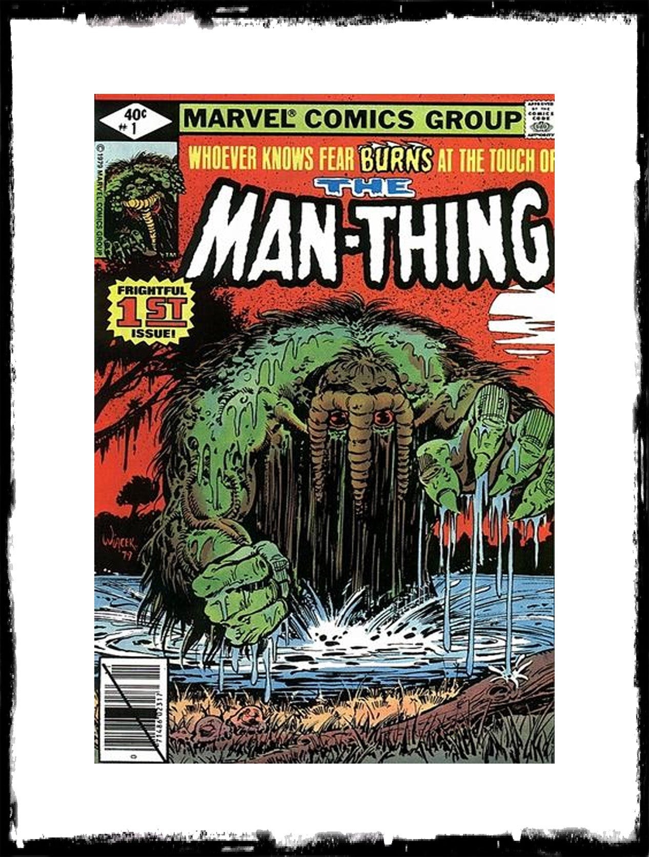MAN-THING - #1 (1979 - VF+/NM)