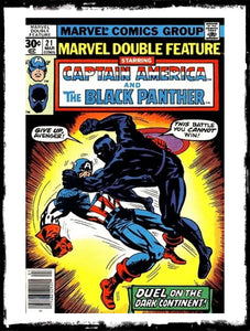 MARVEL DOUBLE-FEATURE - CAPTAIN AMERICA & THE BLACK PANTHER - #21 (1977 - VF-/VF)