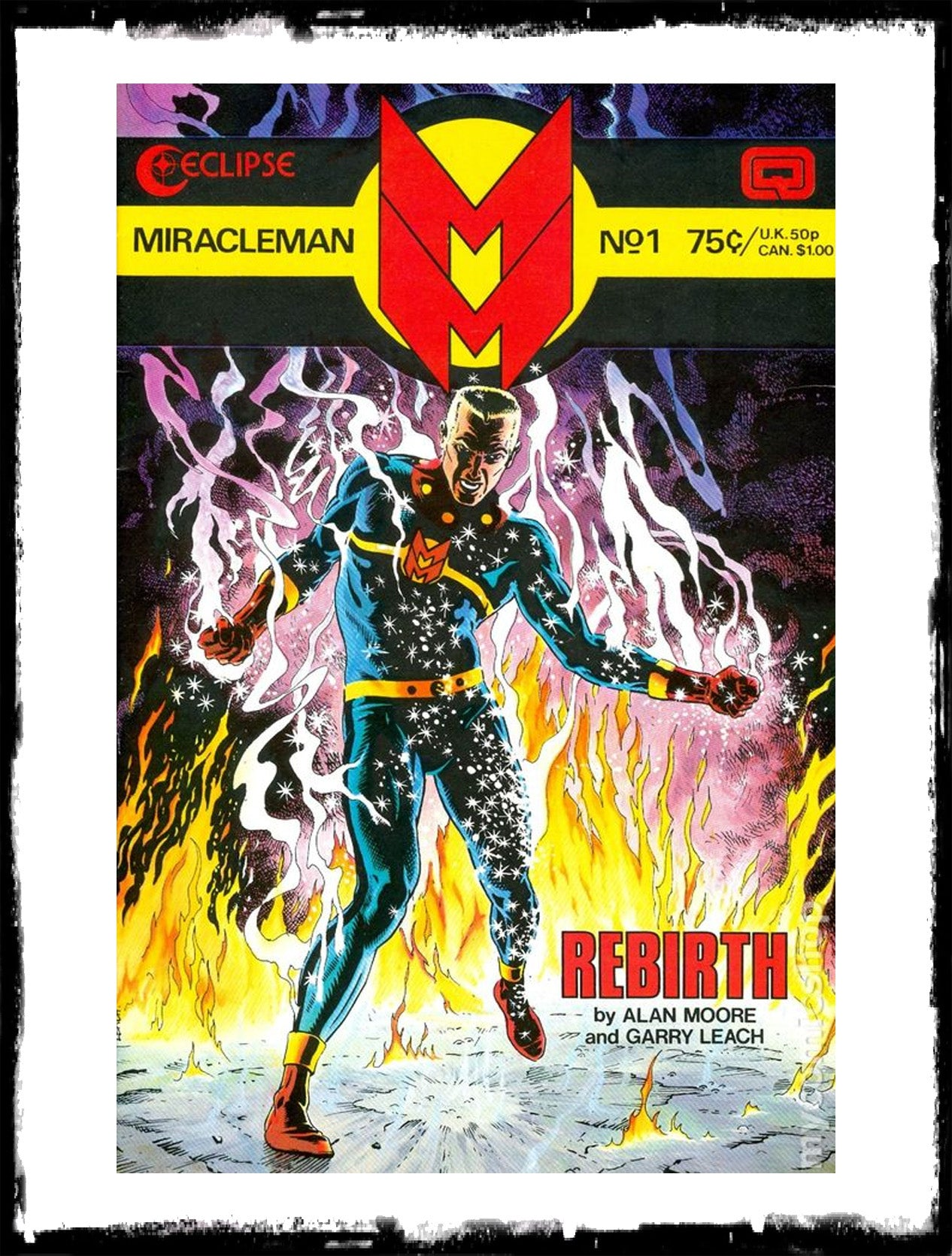 MIRACLEMAN - #1 FIRST APP IN USA (1985 - VF+)