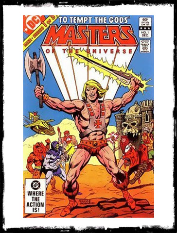 "MASTERS OF THE UNIVERSE - #1 ""TO TEMPT THE GODS!"" (1982 - VF)"