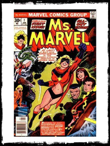 MS. MARVEL - #1 FIRST CAROL DANVERS AS MS. MARVEL (1977 - CONDITION VF/NM)