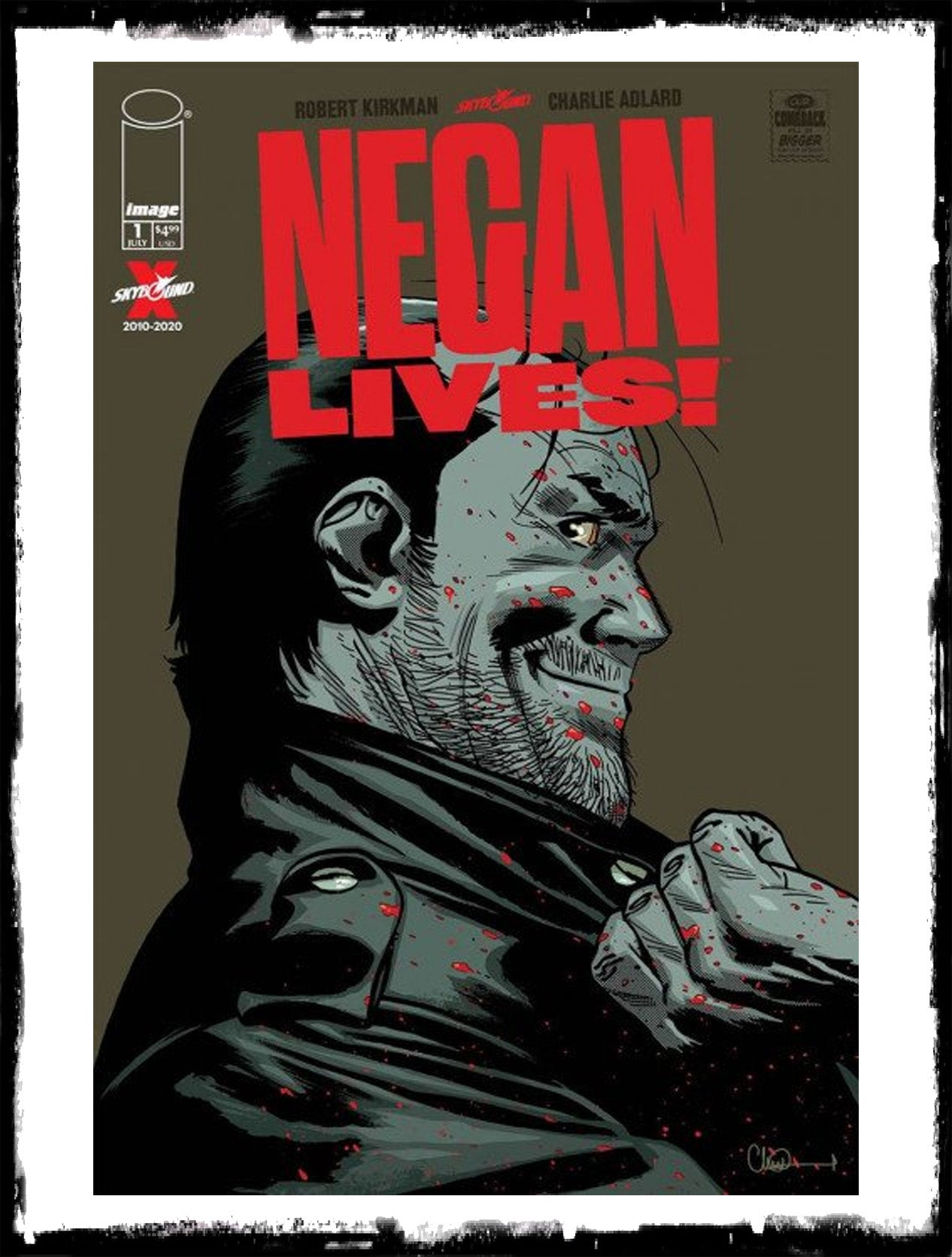 NEGAN LIVES - #1 NEGAN RETURNS! (2020 - NM)