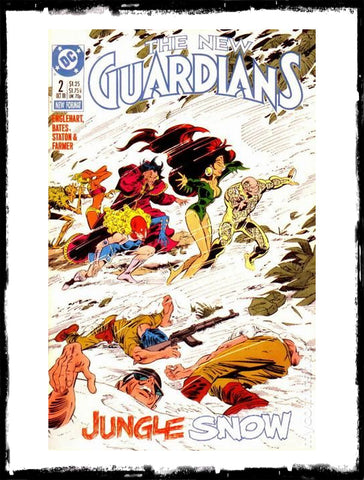 NEW GUARDIANS - #2 FIRST APP OF SNOWFLAME! COCAINE VILLAIN! (1988 - VF+/NM)