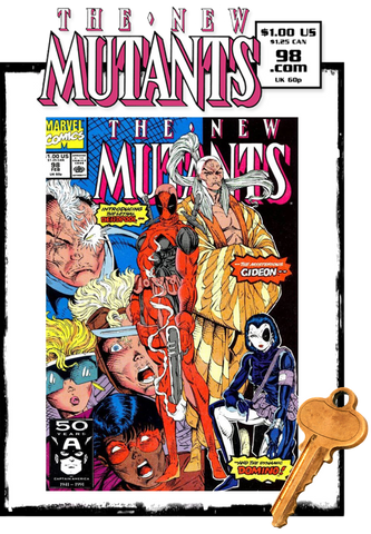 NEW MUTANTS - #98 1ST DEADPOOL (1991 - VF / VF+)