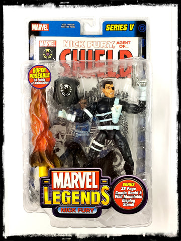 NICK FURY – MARVEL LEGENDS SERIES 5 ACTION FIGURE!
