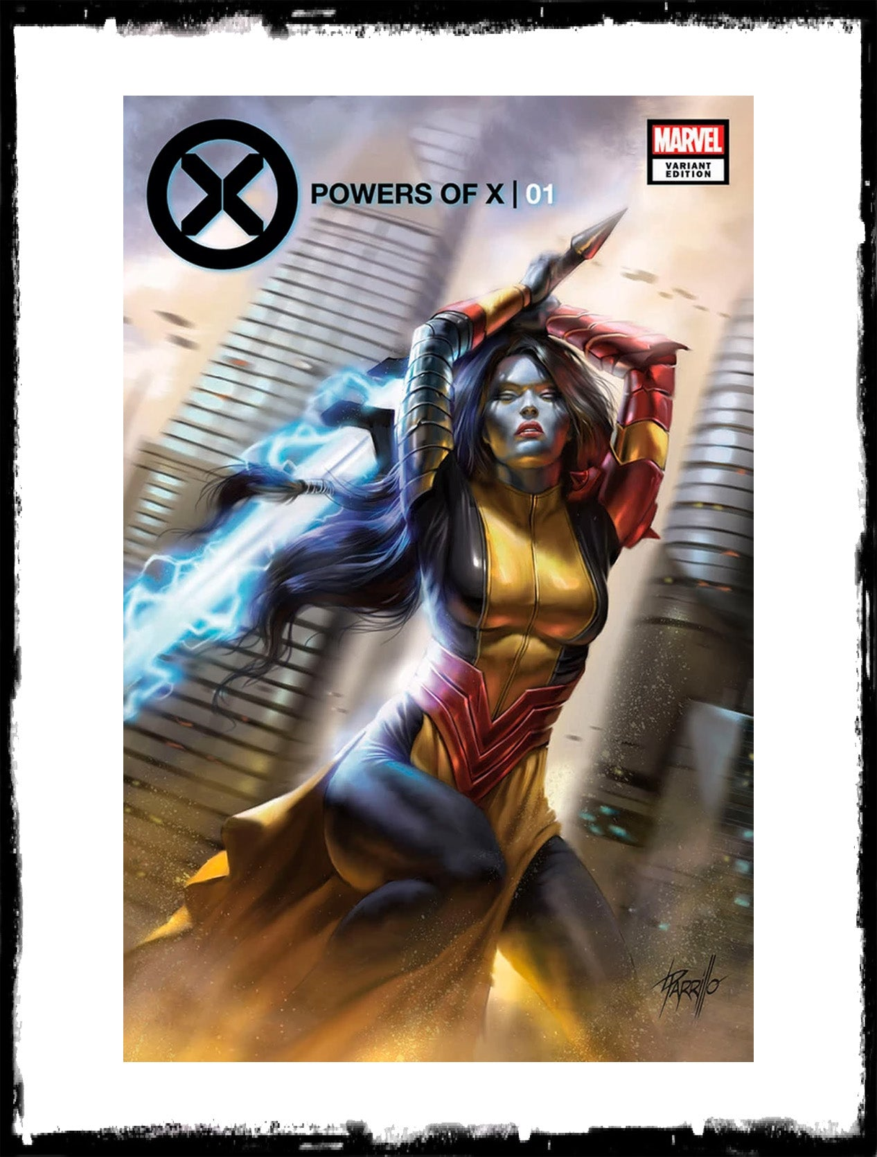 POWERS OF X - #1 LUCIO PARRILLO VARIANT (2019 - NM)