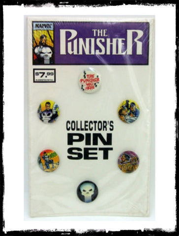 PUNISHER COLLECTOR'S PIN SET - (1989 - NM)