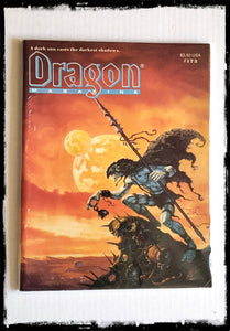 DRAGON MAGAZINE - ISSUE # 173 (CONDITION - FINE)
