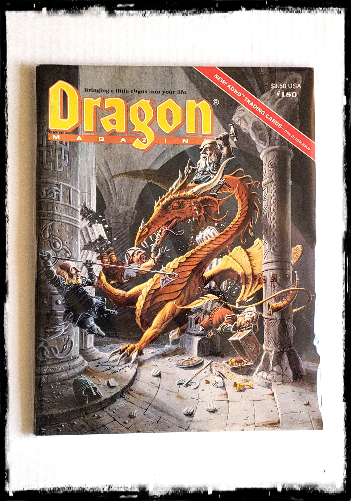 DRAGON MAGAZINE - ISSUE # 180 (CONDITION - FINE)