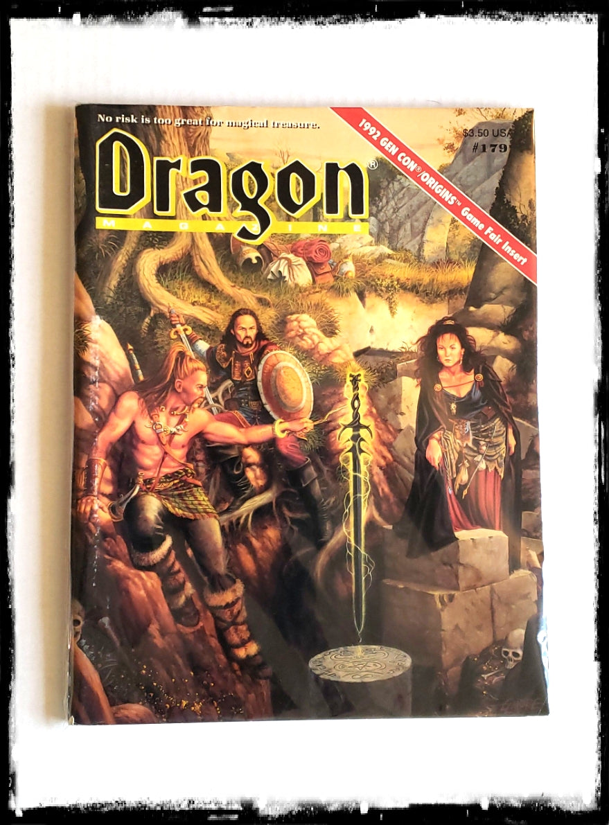 DRAGON MAGAZINE - ISSUE # 179 (CONDITION - FINE)