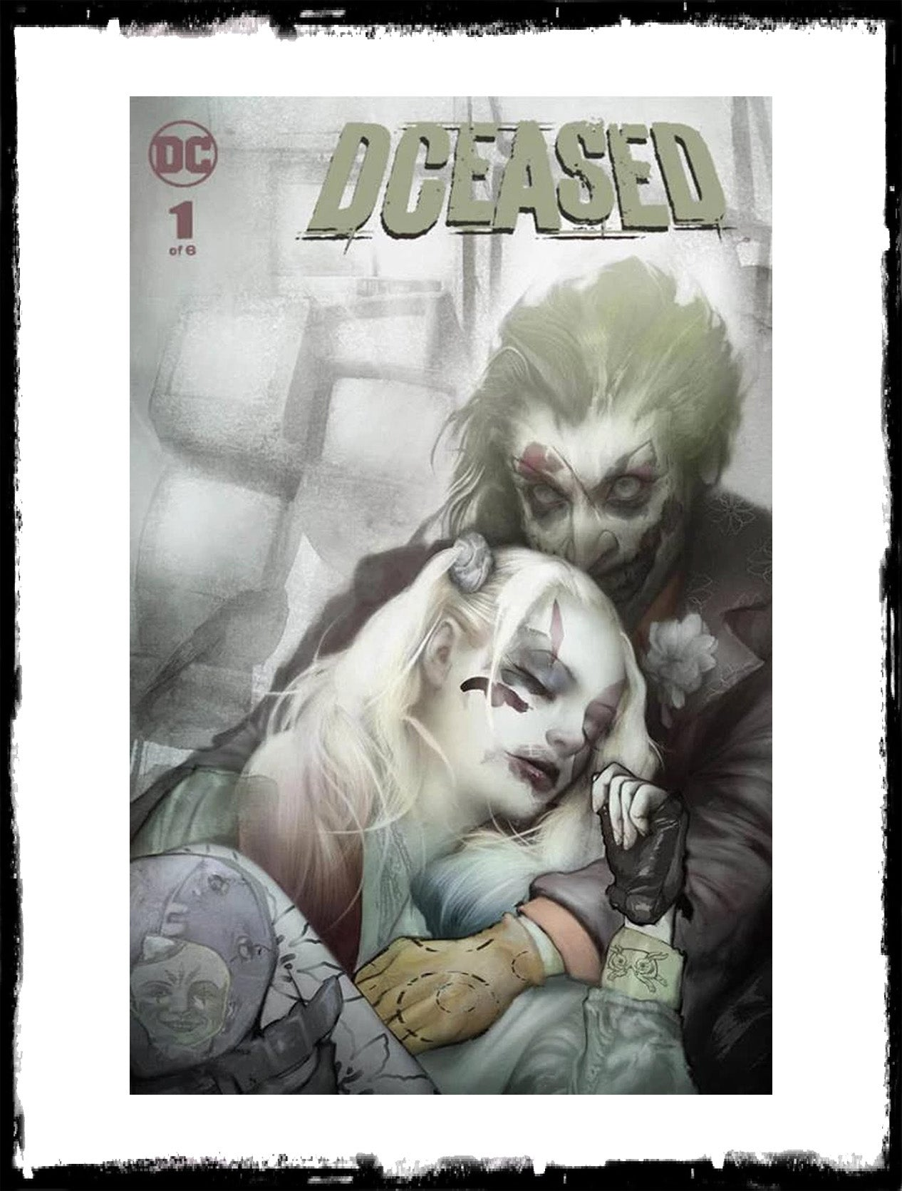 DCEASED - #1 DAN QUINTANA EXCLUSIVE VARIANT (2019 - CONDITION NM)