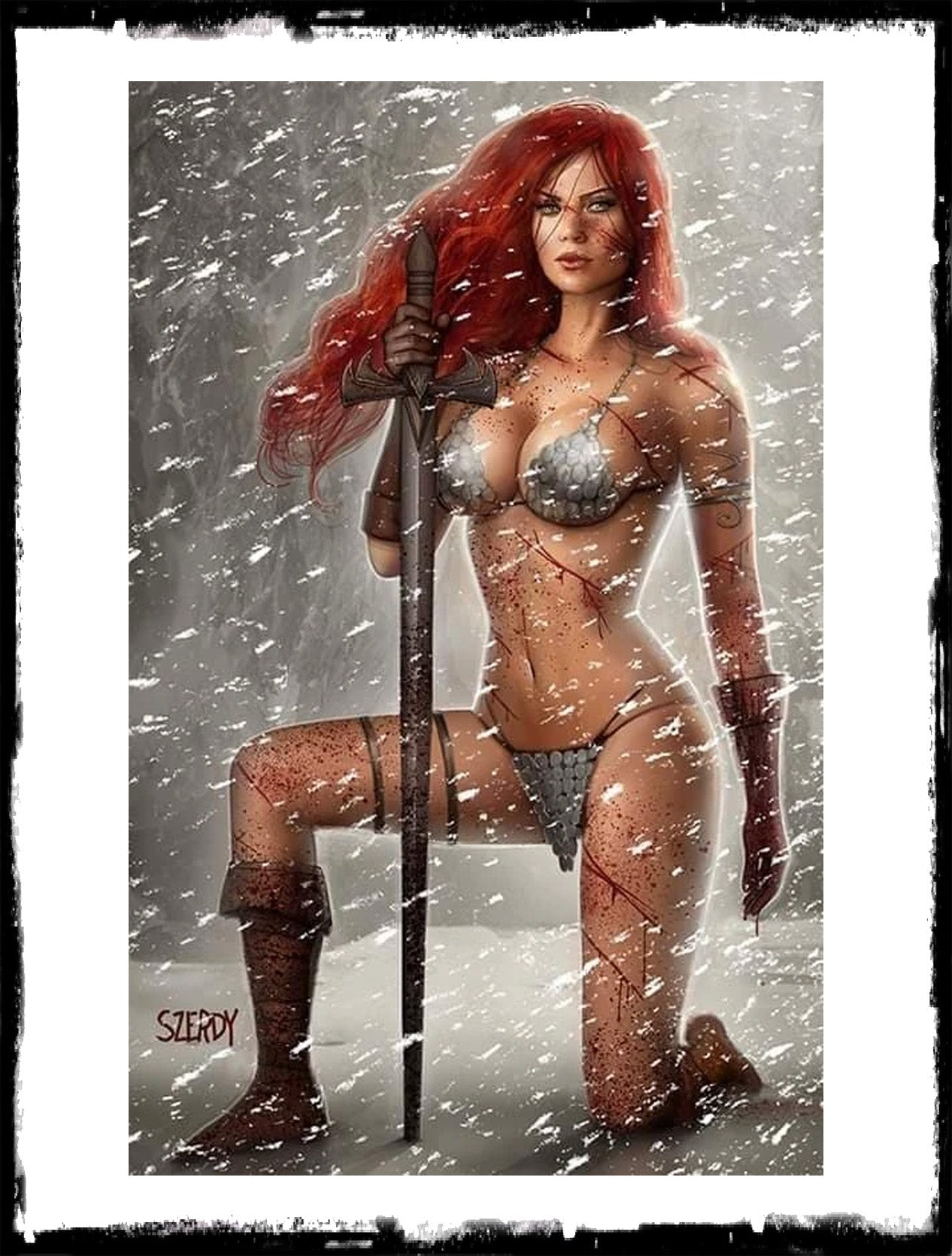 RED SONJA: AGE OF CHAOS - #2 C2E2 EXCLUSIVE NATHAN SZERDY VARIANT (2020 - VF+)