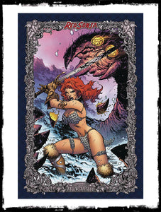 RED SONJA: AGE OF CHAOS - #1 JIM LEE 1:75 ICON VARIANT (2020 - VF+/NM)