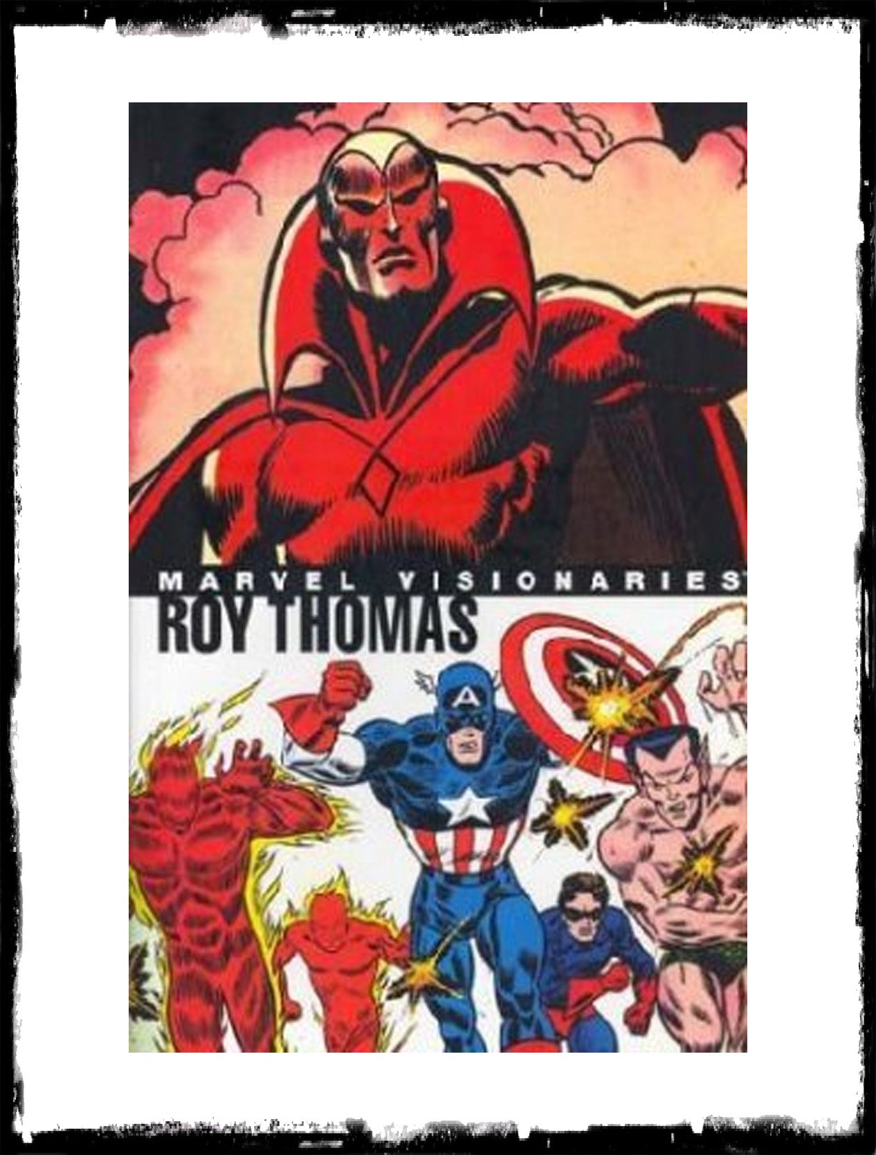 MARVEL VISIONARIES: ROY THOMAS - HARDCOVER