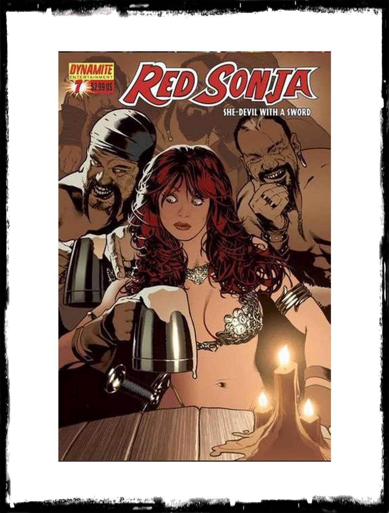 RED SONJA - #7 (2006 - CONDITION VF+/NM)