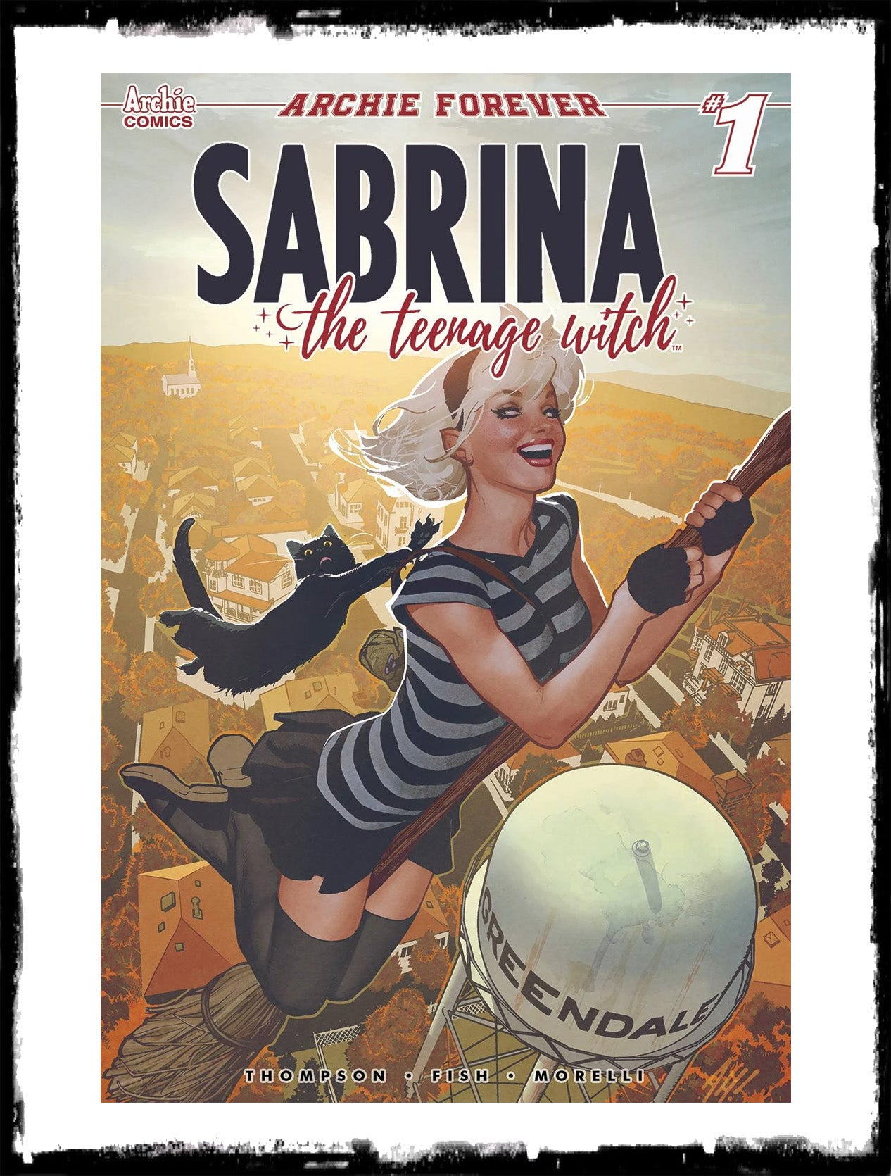 SABRINA THE TEENAGE WITCH - #1 ADAM HUGHES VARIANT! (2019 - NM)