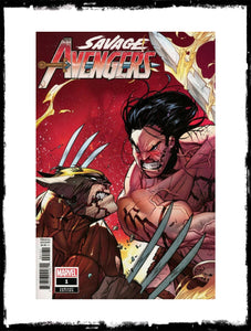 SAVAGE AVENGERS - #1 KIM JACINTO VARIANT COVER (2019 - CONDITION NM)