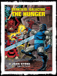 DARKSEID VS GALACTUS: THE HUNGER - JOHN BYRNE MARVEL / DC CROSSOVER PRESTIGE FORMAT (1995 - NM)
