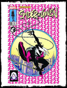 SPIDER-GWEN - #25 ED McGUINNESS VARIANT EXCLUSIVE (2017 - NM)