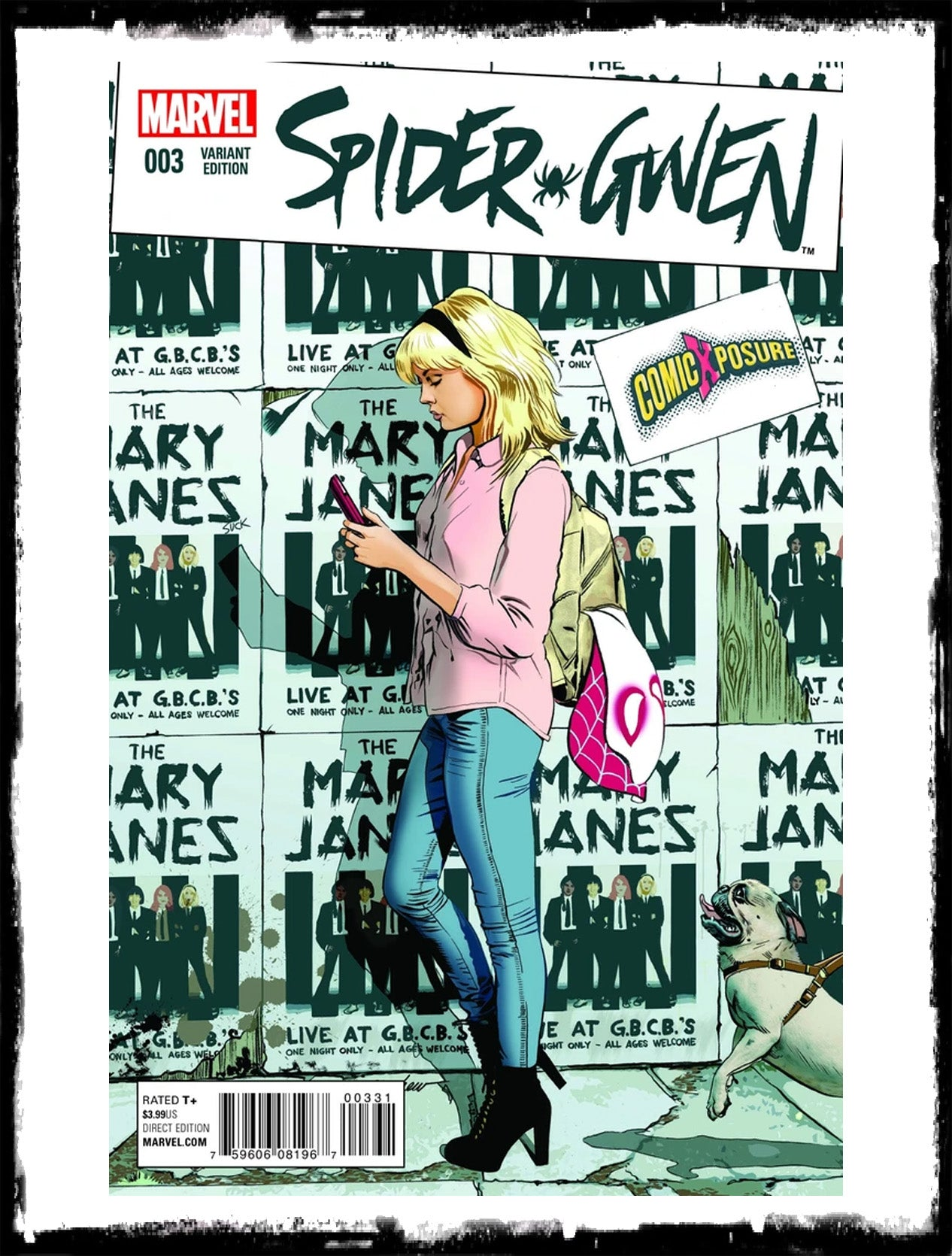 SPIDER-GWEN - #3 MIKE MAYHEW VARIANT EXCLUSIVE (2020 - NM)