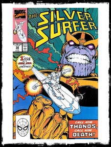SILVER SURFER - # 34 (1990 - CONDITION: MULTIPLE GRADES AVAILABLE)