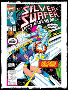 SILVER SURFER - #81 1ST APP OF TYRANT (1993 - VF+)