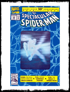 SPECTACULAR SPIDER-MAN - #189 HOLOFOIL COVER (1992 - CONDITION NM)