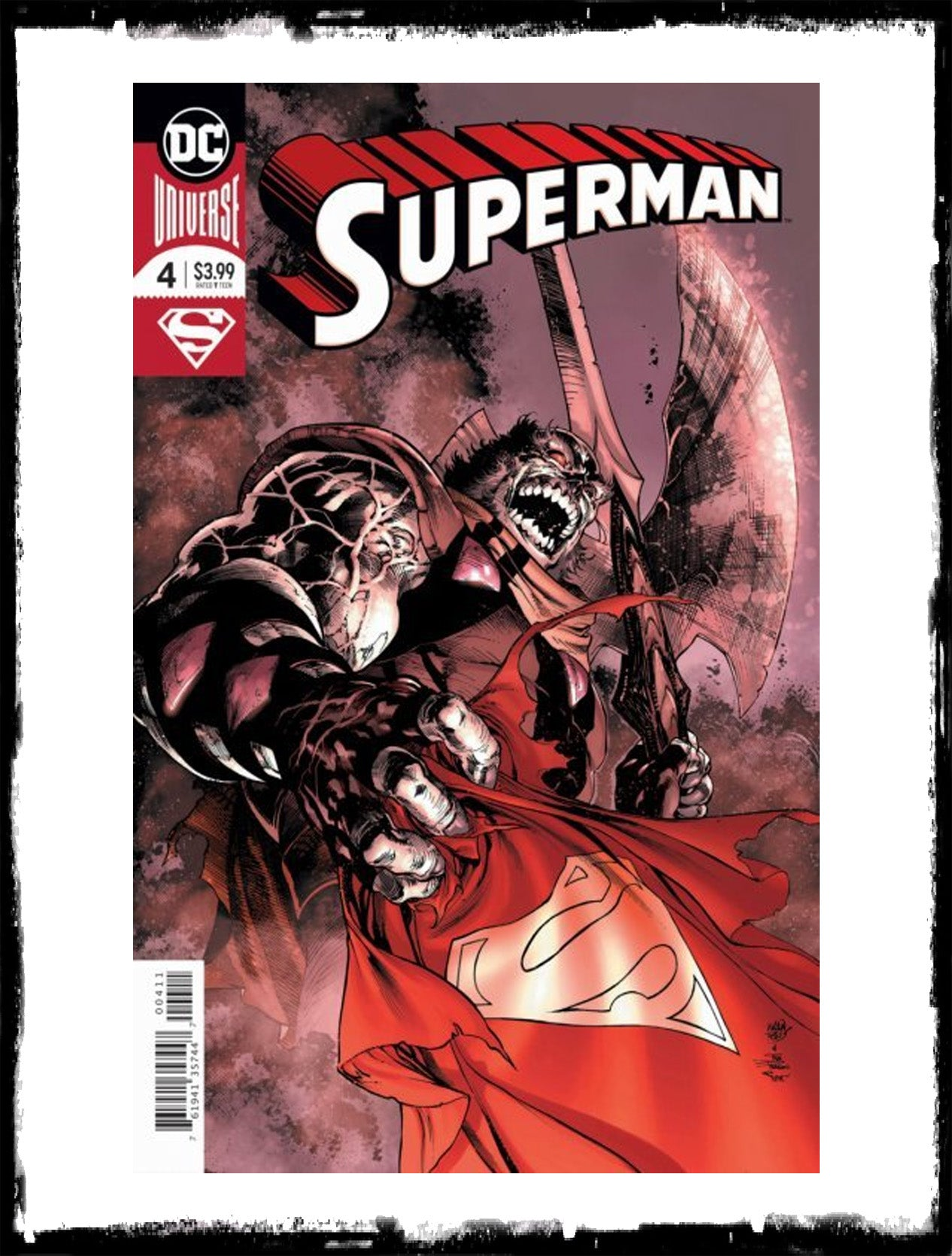 SUPERMAN - #4 - (2018 - NM)