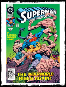 SUPERMAN: MAN OF STEEL - #17 1ST APP (CAMEO) OF DOOMSDAY (1992 - VF+/NM)