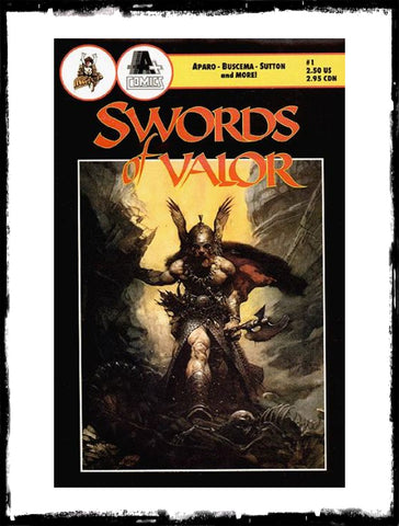 SWORDS OF VALOR - #1 (1990 - CONDITION VF)