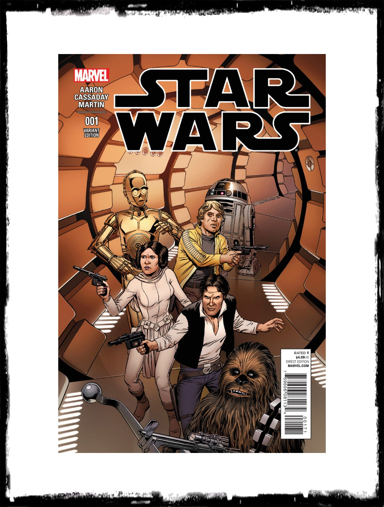STAR WARS - #1 BOB MCLEOD VARIANT (2015 - CONDITION NM)