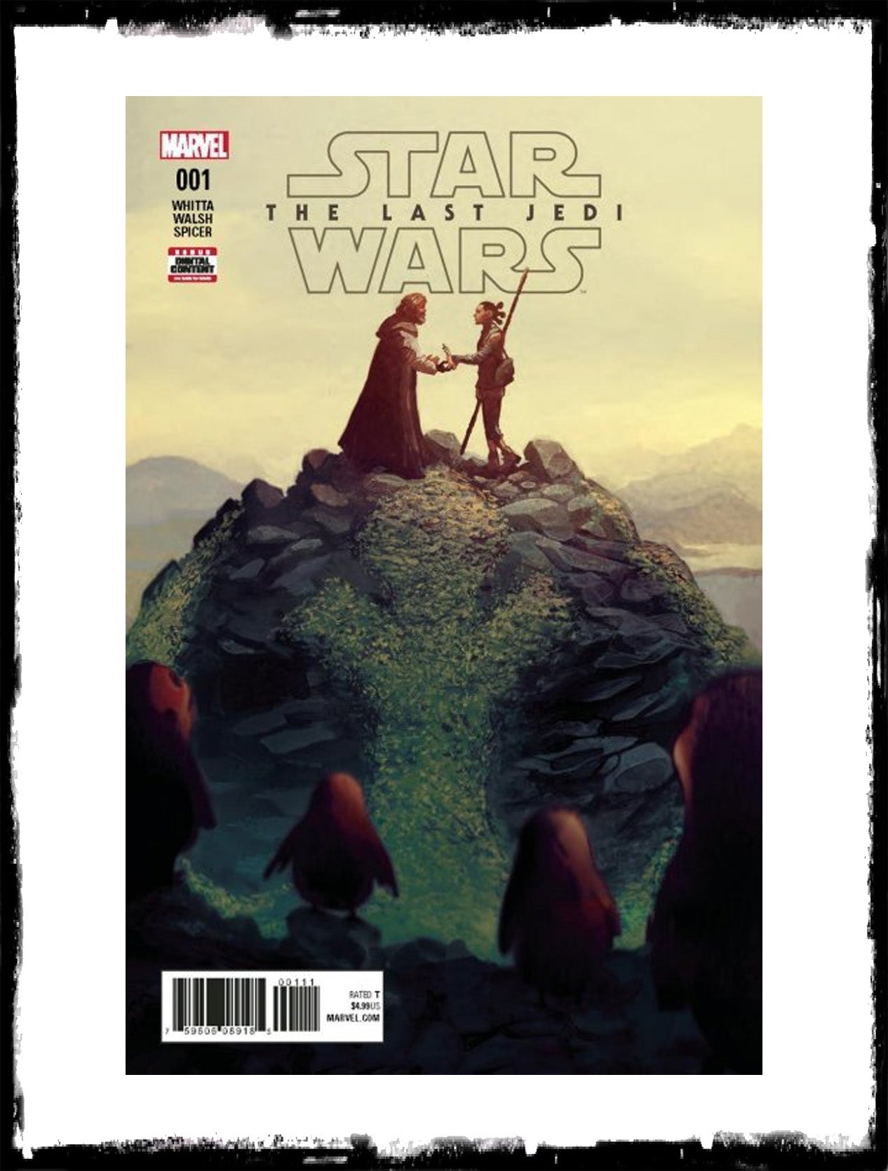 STAR WARS: THE LAST JEDI - #1 (2018 - CONDITION NM)