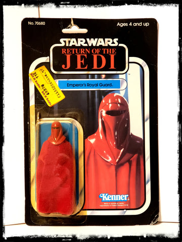 STAR WARS EMPEROR'S ROYAL GUARD - VINTAGE 1983 RETURN OF THE JEDI CARDED ACTION FIGURE!