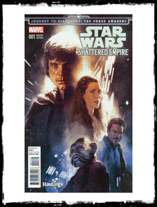 JOURNEY TO STAR WARS: THE FORCE AWAKENS - SHATTERED EMPIRE - #1 GERALD PAREL HASTINGS VARIANT (2015 - NM)