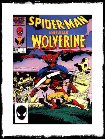SPIDER-MAN VERSUS WOLVERINE - #1 (1987 - VF+/NM)