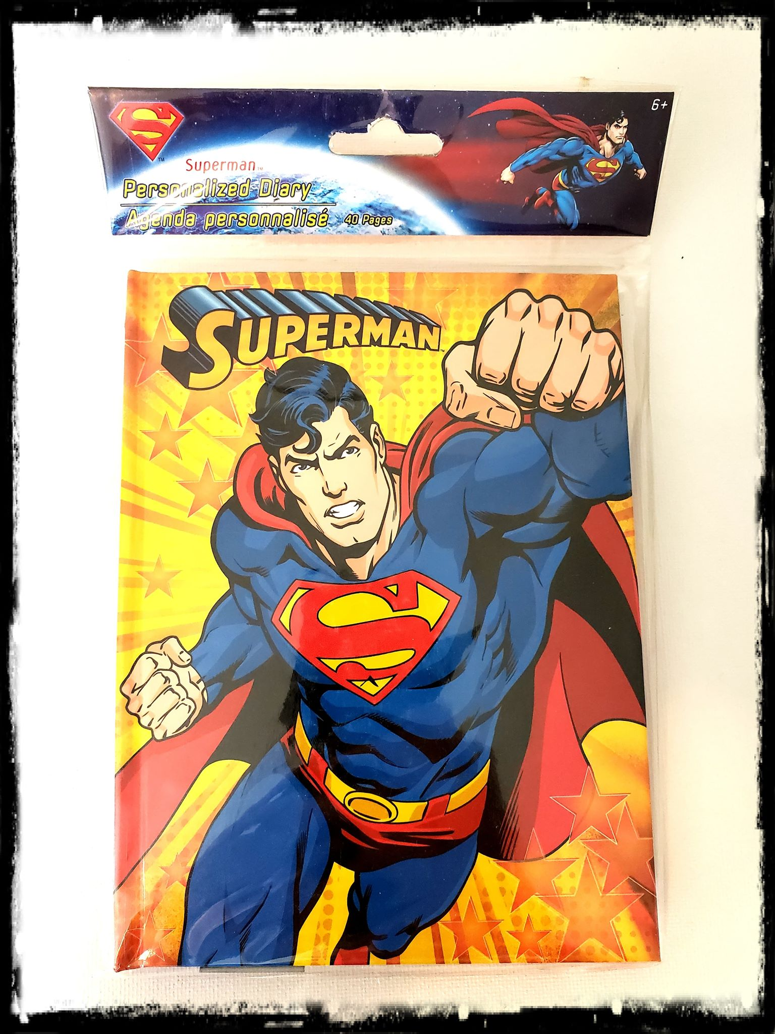 DC - SUPERMAN - PERSONALIZED JOURNAL / DIARY