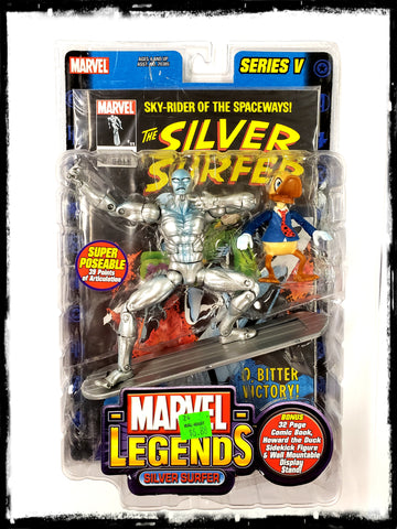 SILVER SURFER – MARVEL LEGENDS SERIES 5 ACTION FIGURE!