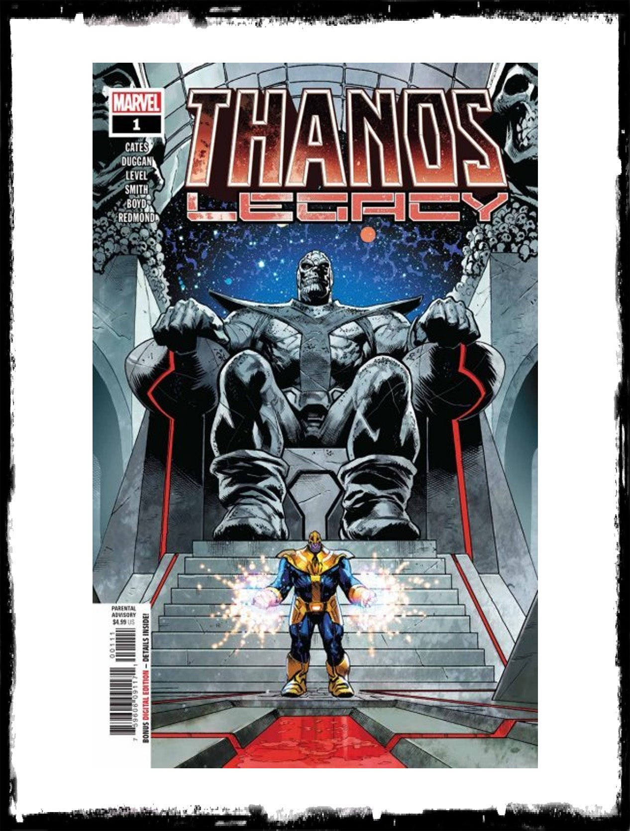THANOS LEGACY- #1 (2018 - CONDITION NM)