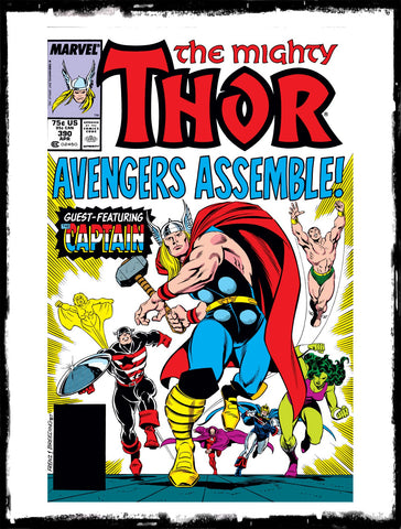 THOR - THE MIGHTY THOR - #390 (1988 - CONDITION VF+/NM)