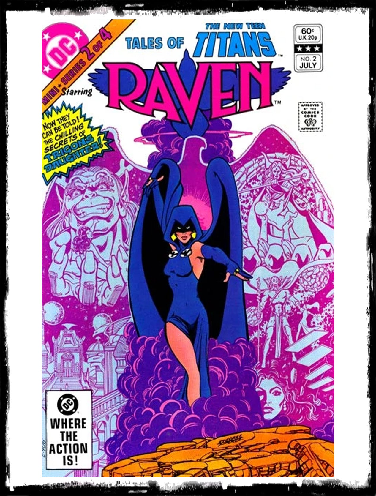 TALES OF THE NEW TEEN TITANS - #2 ORIGIN OF RAVEN (1982 - VF+/NM)