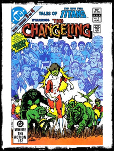 TALES OF THE NEW TEEN TITANS - #3 ORIGIN OF CHANGELING (1982 - VF+/NM-)
