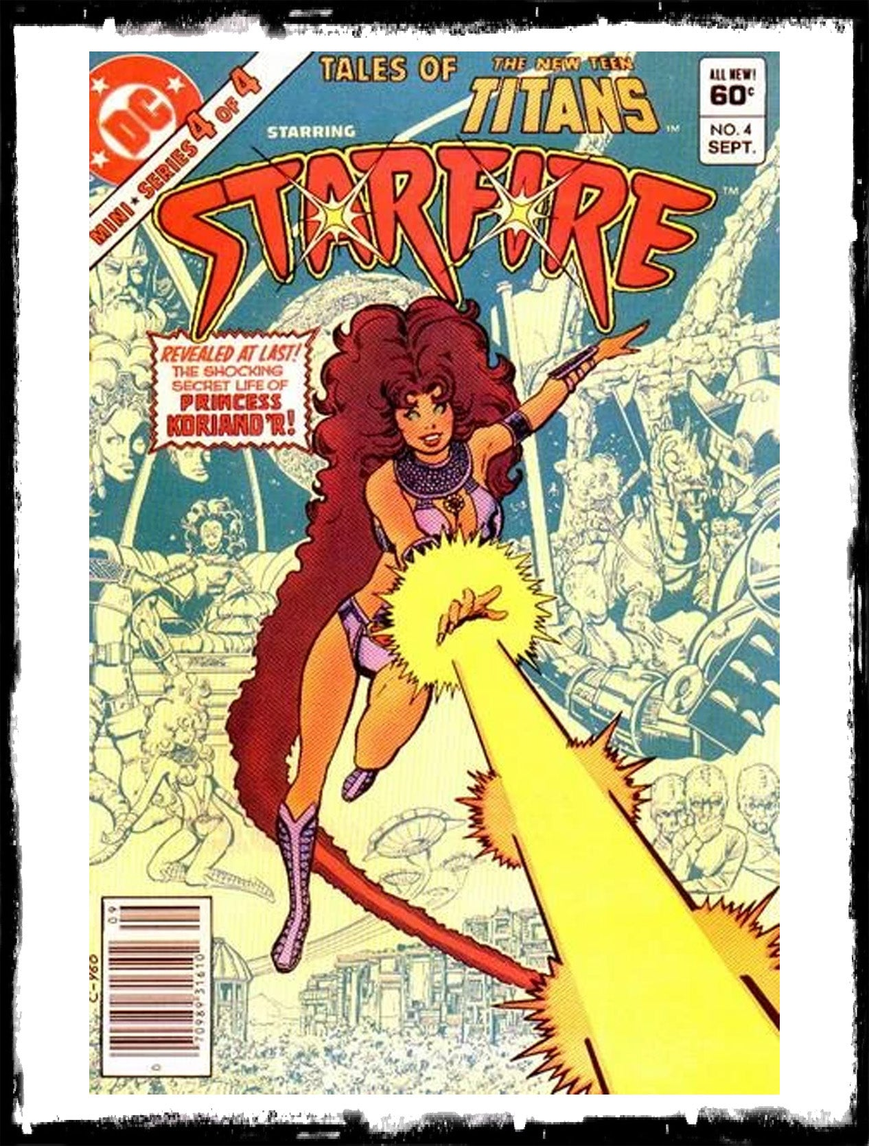 TALES OF THE NEW TEEN TITANS - #4 ORIGIN OF STARFIRE (1982 - VF+/NM-)