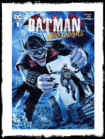 BATMAN WHO LAUGHS - #1 (Mike Mayhew Exclusive Variant)!