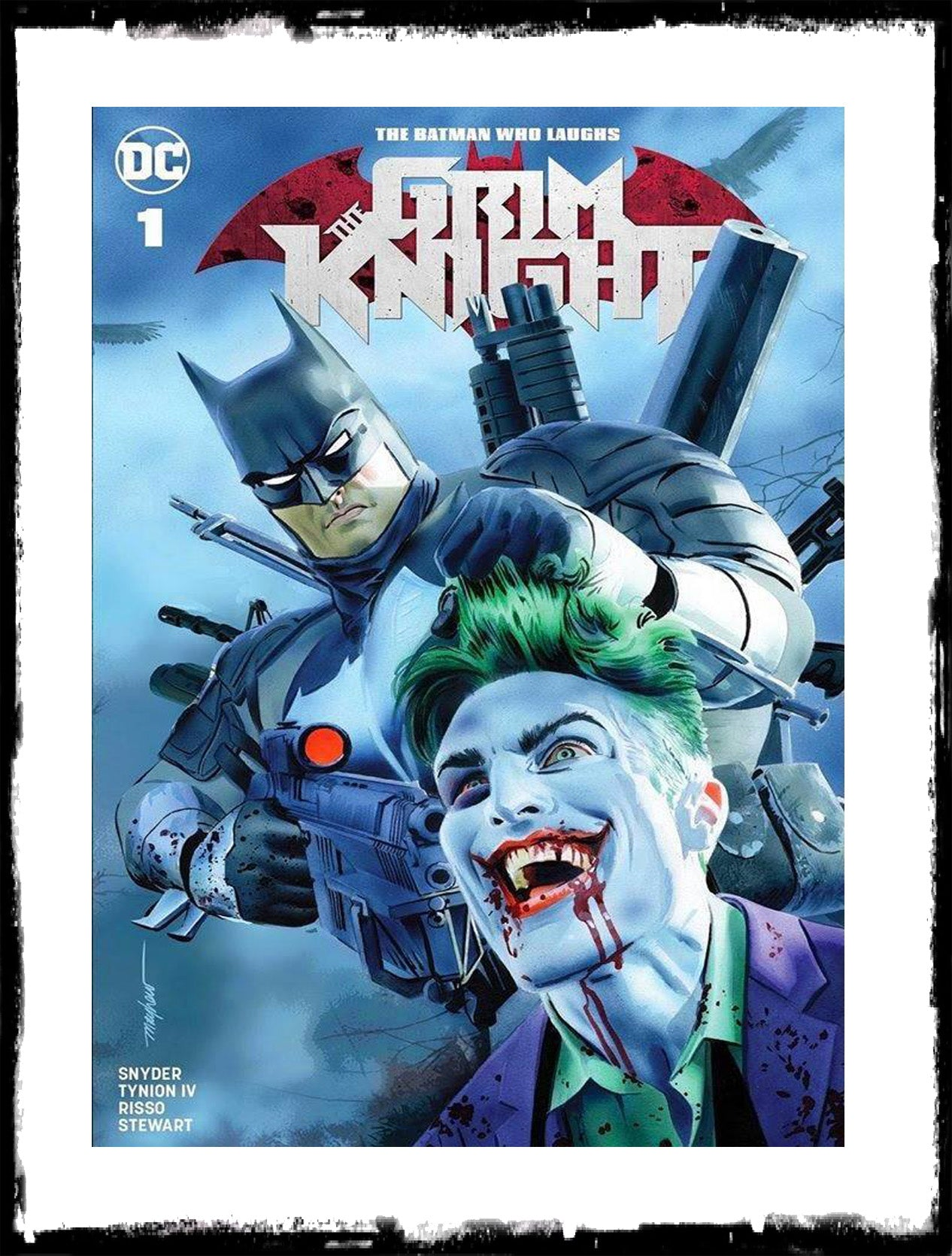 BATMAN WHO LAUGHS: THE GRIM KNIGHT - #1 (Mike Mayhew Exclusive Variant)