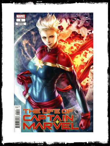 CAPTAIN MARVEL - THE LIFE OF CAPTAIN MARVEL - #1 (Artgerm Exclusive Variant)!